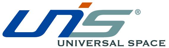 UNIS logo white stroke