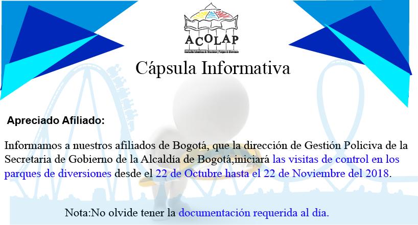 Capsula Informativa Octubre